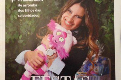 Aniversários de Arromba Celebridades Andrea Guimarães