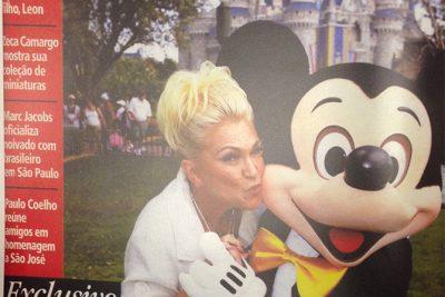 O aniversário de Hebe na Disney – Andrea Guimarães