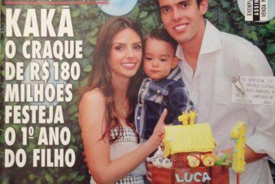 Kaká festeja 1º ano do Filho – Andrea Guimarães