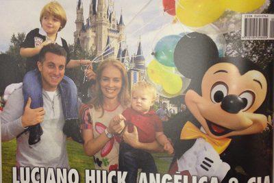 Luciano Huck, Angelica e cia. na Disney - Andrea Guimarães