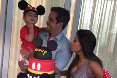 Simone celebra niver do filho em Orlando - Andrea Guimarães