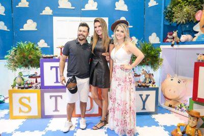 Marcos celebra 4 anos do filho Léo - Andrea Guimarães