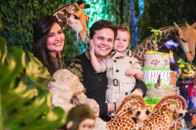 Matheus faz festança para filho - Andrea Guimarães