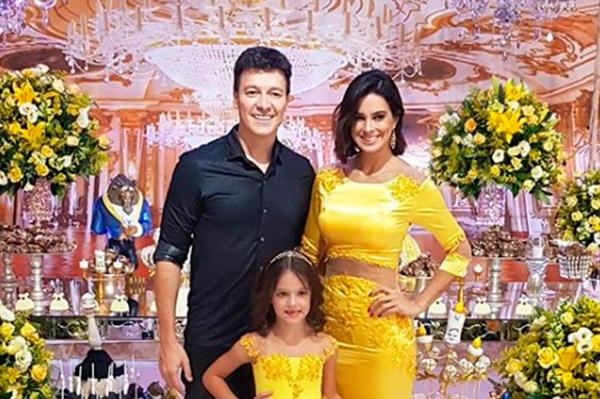 Faro comemora 6 anos da filha - Andrea Guimarães