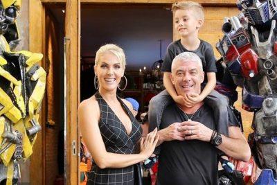 Ana Hickmann celebra 5 anos do filho - Andrea Guimarães