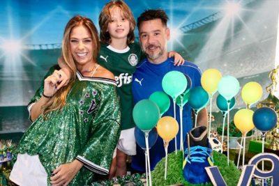 Galisteu realiza festão para filho - Andrea Guimarães