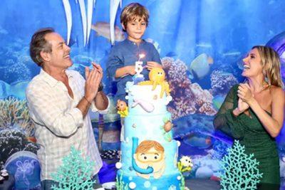 Luisa Mell celebra aniversário de filho - Andrea Guimarães
