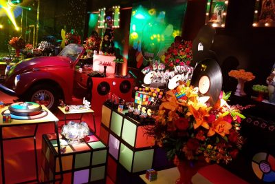 Festa Anos 80 - Andrea Guimaraes Party Planner