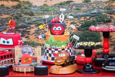 Festa Carros Disney - Andrea Guimaraes Party Planner