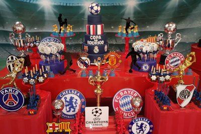 Festa Champions League - Andrea Guimaraes Party Planner