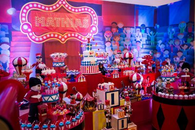 Festa Circo Mathias - Andrea Guimaraes Party Planner