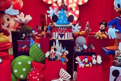Festa Disney - Alexandre filho Ana Hickmann - Andrea Guimarães Party Planner