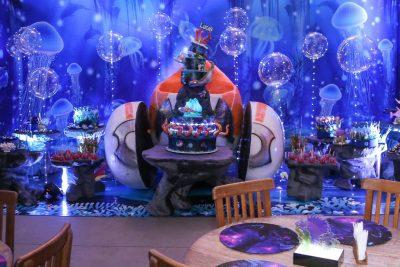 Festa Fundo do Mar Submarino - Andrea Guimaraes Party Planner