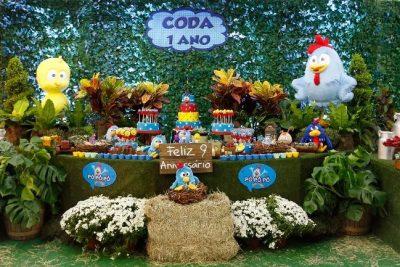 Festa Galinha Pintadinha - Andrea Guimaraes Party Planner
