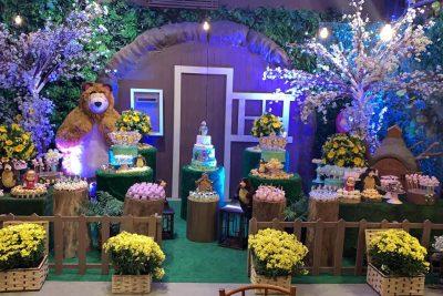 Festa Masha e o Urso - Andrea Guimaraes Party Planner