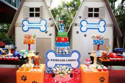 Festa Patrulha Canina - Andrea Guimaraes Party Planner