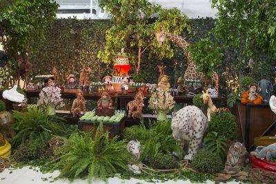 Festa Safari Disney - Emanuel - Andrea Guimaraes Party Planner