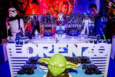 Festa Star Wars - Lorenzo - Andrea Guimarães Party Planner