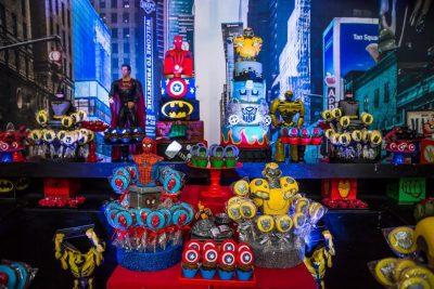 Festa Super Heróis - Andrea Guimaraes Party Planner