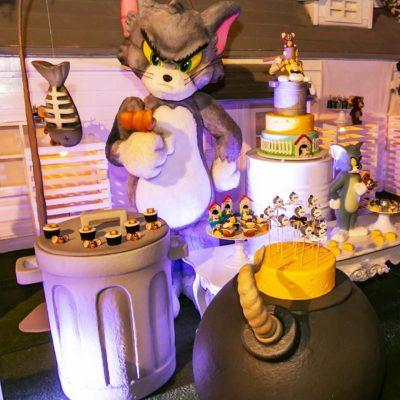 Festa Tom e Jerry - Andrea Guimaraes Party Planner