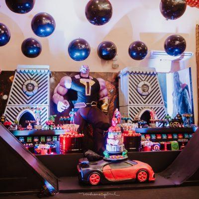 Festa Vingadores Henry - Andrea Guimaraes Party Planner