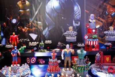 Festa Vingadores Ultimato - Andrea Guimaraes Party Planner
