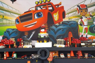 Festa Blaze and The Monsters Machines - Andrea Guimarães Party Planner