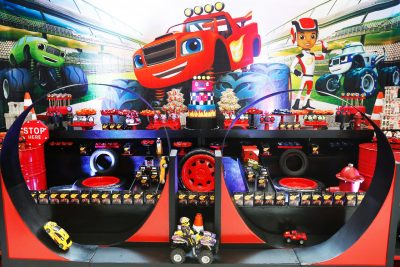 Festa Blaze and The Monsters Machine - Andrea Guimarães Party Planner