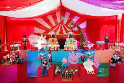 Festa Circo Peppa Pig - Andrea Guimarães Party Planner