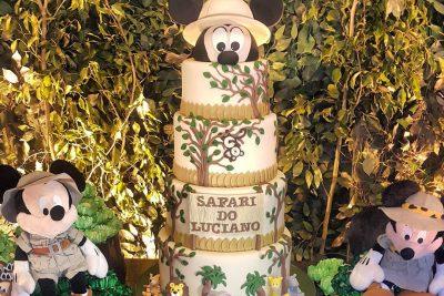 Festa Disney Safari - Luciano - Andrea Guimarães Party Planner