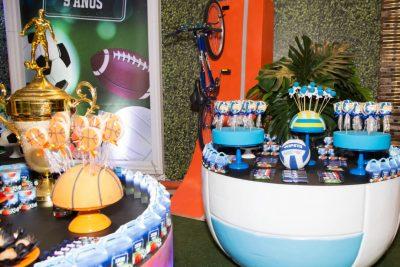 Festa Esportes - Andrea Guimarães Party Planner
