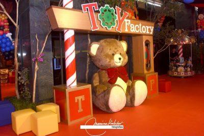 Festa Fábrica de Brinquedos no Circo - Andrea Guimarães Party Planner