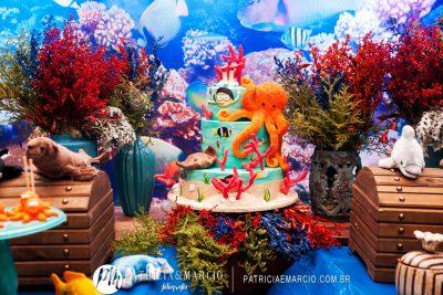 Festa Fundo do Mar - Andrea Guimarães Party Planner