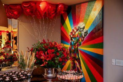Jantar de Aniversário - Ticiane Pinheiro - Andrea Guimarães Party Planner