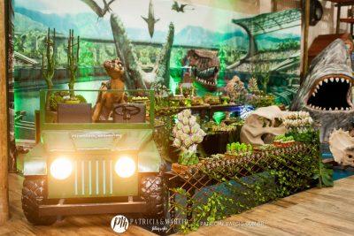 Festa Jurassic World - Andrea Guimarães Party Planner