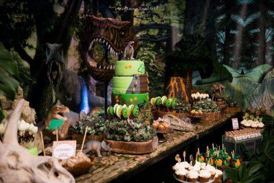 Festa Jurassic Park Arthur - Andrea Guimarães Party Planner