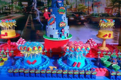 Festa Lego Vingadores - Arthur - Andrea Guimarães Party Planner