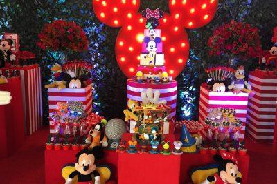 Festa Mickey Disney - Andrea Guimarães Party Planner