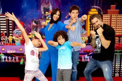 Festa Power Rangers - Stefano - Andrea Guimarães Party Planner