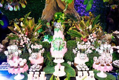 Festa Safari no Mundo Rosa - Andrea Guimaraes Party Planner